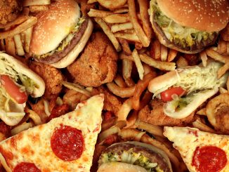 pizza, burger, fast food